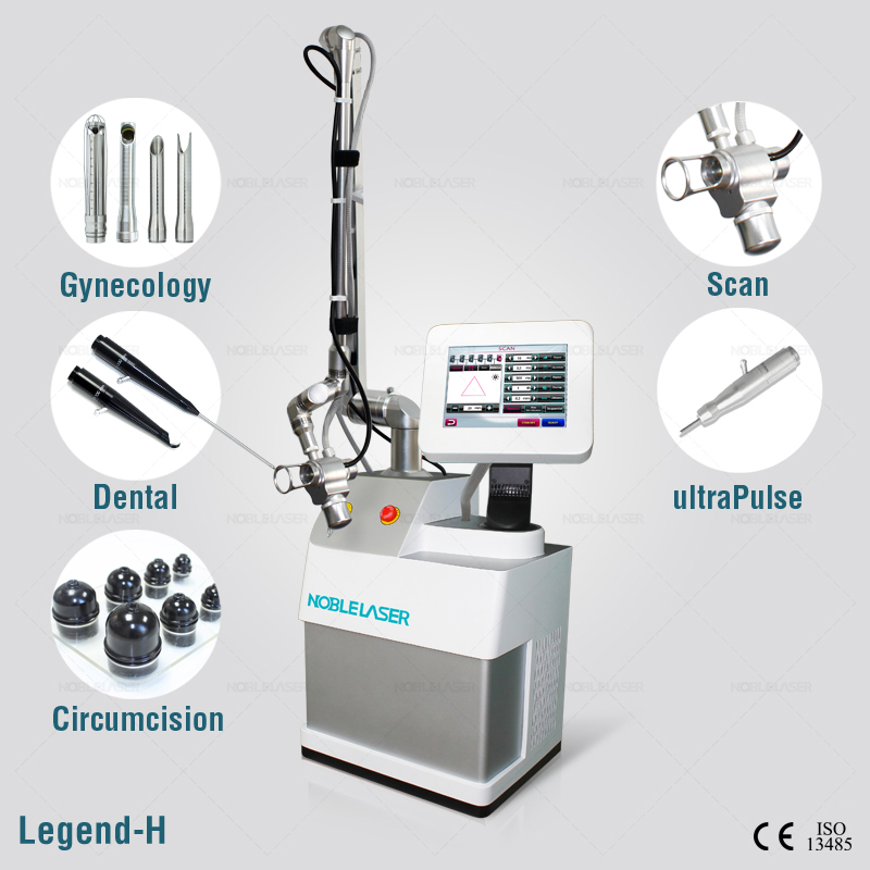 Fractional co2 laser surgical laser clinic equipment 30w output powerful co2 laser machine