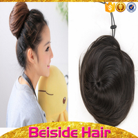 Honey silky straight synthetic hair bun accessories top sale discount chinese
