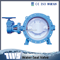 Best selling Double flanged double eccentric butterfly valve made in China