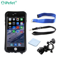 Waterproof Mobile Case, Sport Exercise Armband, Neck Strap, Touch Screen, Clear View Window Camera Pouch