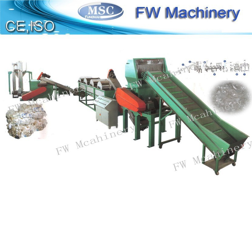 Hot sales waste film recycling machinery plastic film crushing washing line pp pe film recycled equipment