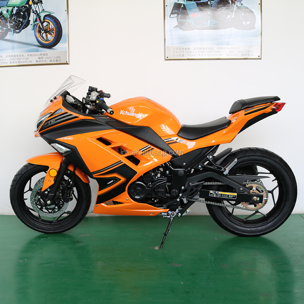 japan hot sale new design 150cc 200cc 250cc 300cc 350cc eec gas super sport automatic chopper street sport motorcycle