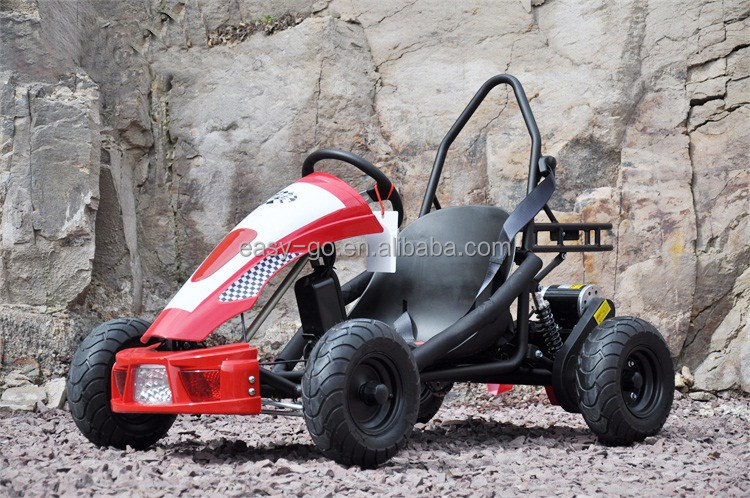 2015 New upgraded 500w electric off road go kart with seat hot on sale