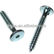 china high quality custom furniture hardware flat head connecting screws and bolts manufacturer