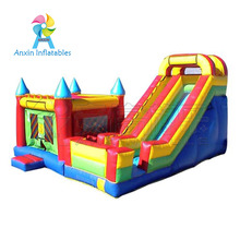 popular rental games kids inflatable jump bouncer castle with giant inflatable slide combos