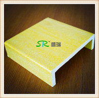 Factory Supply FIBERGLASS CHANNEL 76*38*6.4*6.4mm