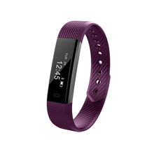Veryfit for Heart Rate Calories Steps Counter Smart Pedometer Watch Bluetooth Heart Rate Wristband