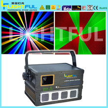 Multi color magic laser light show mini laser light 1w rgb