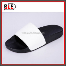 classic male pu slide slipper man colorful slide sandal