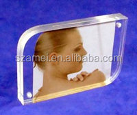 Hot sale acrylic paper insert block,sex photo frame,sexy picture frames