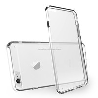 Anti Scratch Hybrid Clear TPU Bumper Hard Back Case Cover For Apple iPhone 6/6S Free Screen Protector