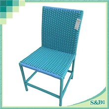 SD Special fashion PE rattan weaving outdoor rattan chair plastic chair price
