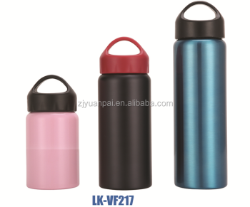 2015 new fashion stainless steel vacuum flask theromos vacuum flask water bottle