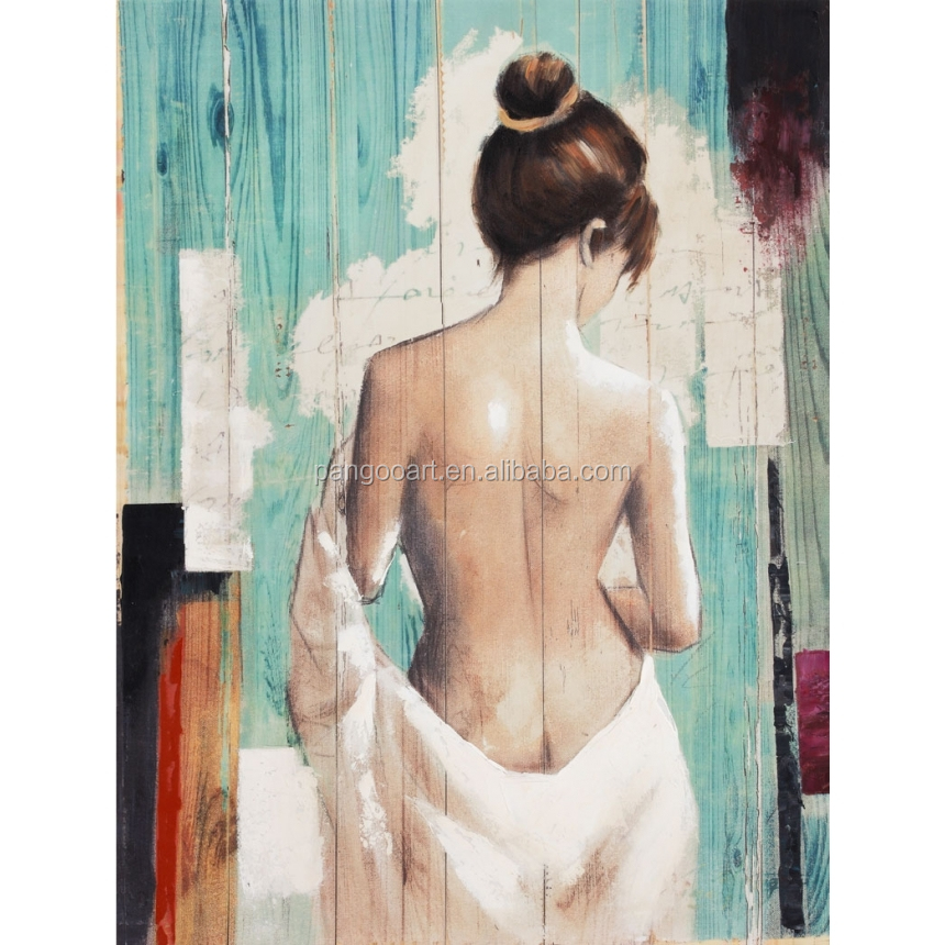 Hot Sexy Nude Girls Art Painting Canvas
