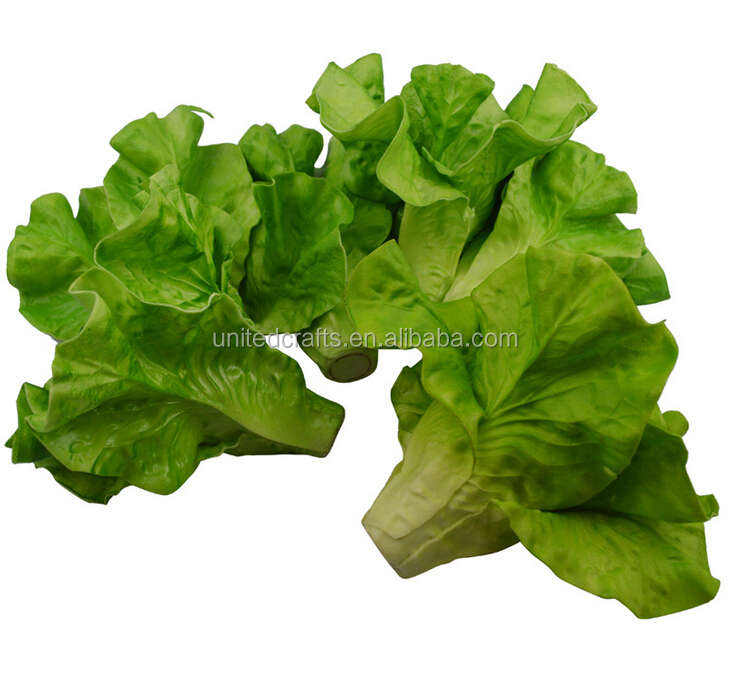 decorative Artificial lettuce leaves Vegetable