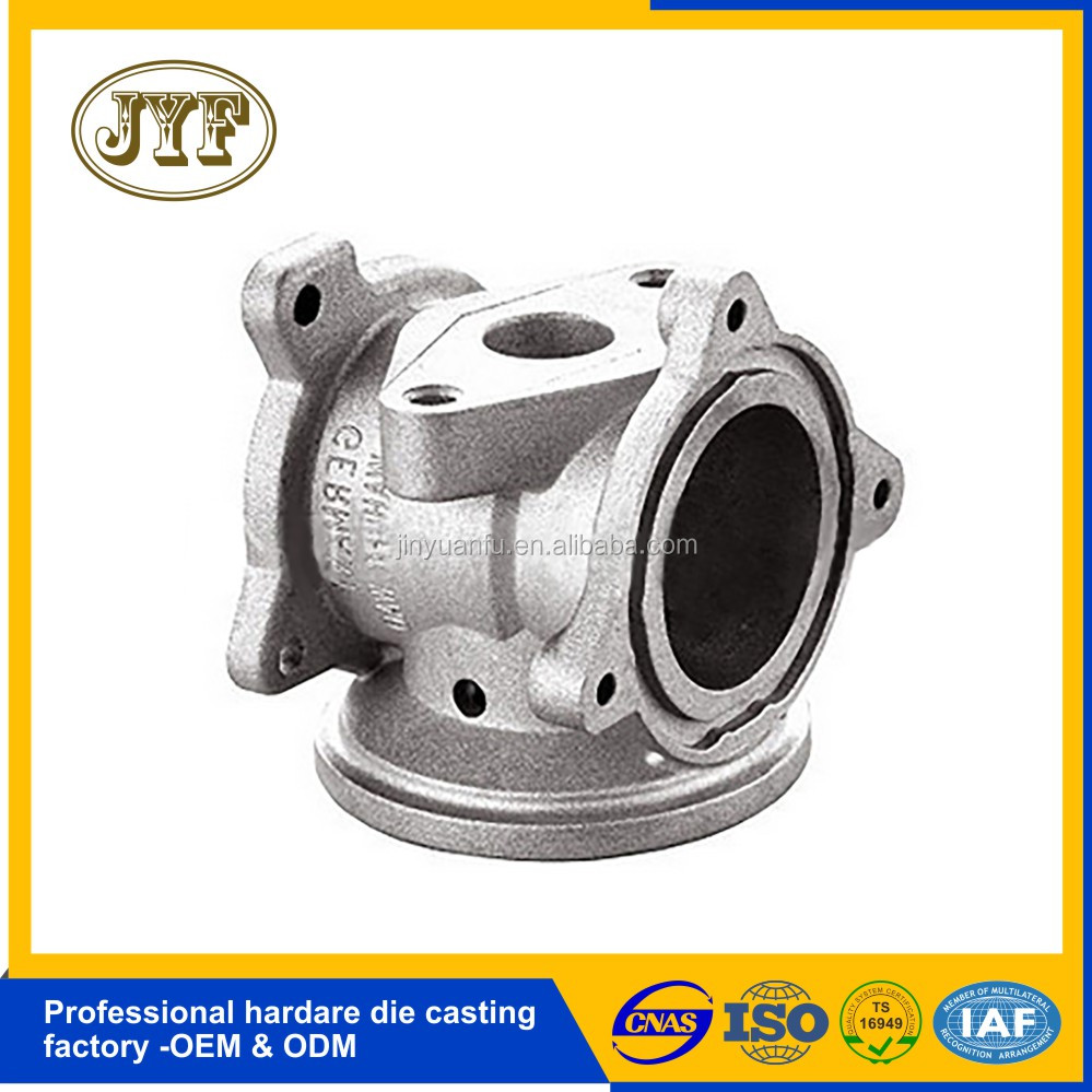 Professional factory custom aluminum die casting water pump housing