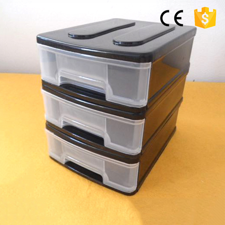 removable colorful plastic stackable storage drawers durable home storage