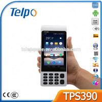 Telepower TPS390 POS Android biometric Android Barcode Reader Rugged Android phone with Barcode Reader