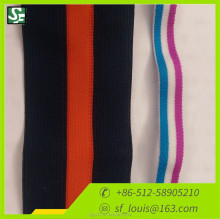 elastic belt fashion chromatic stripe elastic band