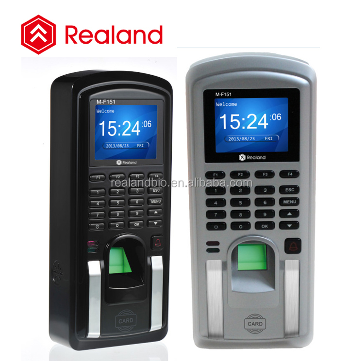 biometric finger print time attendance access control machine Realand M-F151