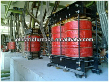 Water Cooled Coil and Magnetic Core furnace Reactor