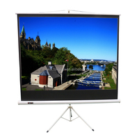 New style 120 inch portable projector screen tripod stand