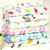 100% cotton reactive printed gauze fabric for baby blanket