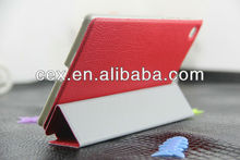 Ultra Slim Magnetic PU Leather Stand Case for Google New Nexus 7 FHD 2nd Gen -Red Color