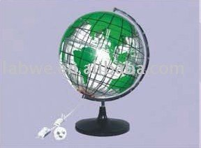 China hot sale projection globe model supplier/ geography laboratory equipments