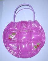new style fashion pvc inflatable bubble shopping handbag