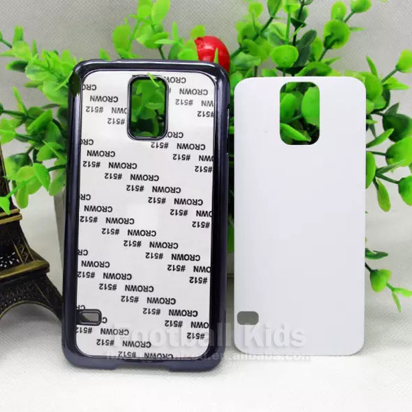 China market of sublimation printable plastic 2D mobile phone cover for Samsung S5
