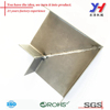 Brush polished aluminum welded Sheet metal encloser