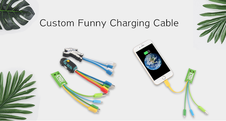 OEM+ODM+LOGO multi-function colorful flat usb charger cable 5/6 in 1 USB Charging Cable Mobile Phone Charger Adapter Cable