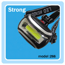 plastic waterproof best quality ningbo factory COB led light headlamp led for camping