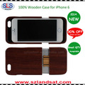2015 New and Hot Sale wooden case for Iphone 6 real wooden case for iphone 6 IPC362