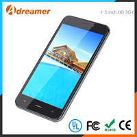 Professional new style 5 inch HD 3G low cost touch screen china mobile phone