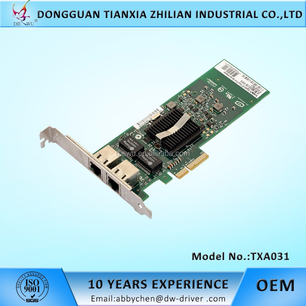 factory price pci express sever network cards intel chip server adapter