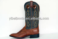 Classical Western Leather Riding Boots