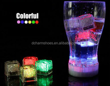 Wholesale High quality wedding celebration LED Glow Ice Cubes party decoration
