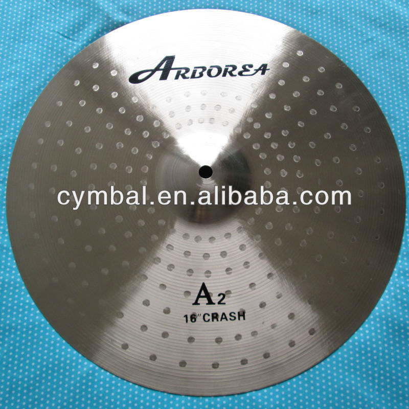 "HOT SELLING 100% handmade 16""CRASH Pearl Cymbals"