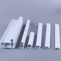 Excellent energy-saving plastic pvc extruded frame for window for door