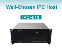 IPC-610 Industrial control host 6113P4 Floor extended card industrial computers