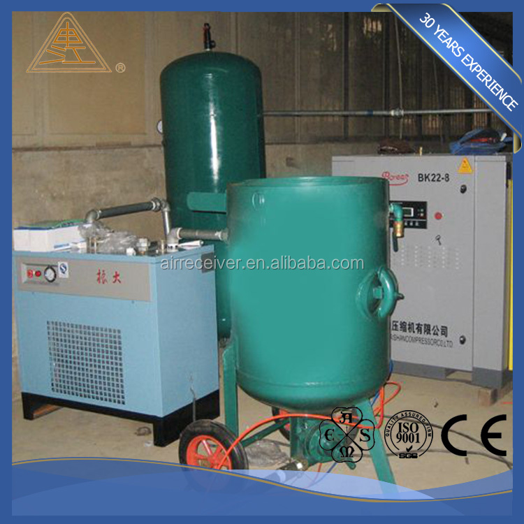 Portable sandblasting pressure wheel sand blasting pot high demand products in market