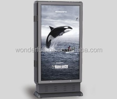 2015 New Type Super Slim Outdoor Advertising Light Box (F-03)