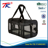 New products multifunctionable pet travel carrier pet bag with soft handled