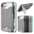 Hot Sale FLOVEME Stand Phone Case For 7 7 Plus Hybird Armor Kickstand Case 2 in 1 Plastic Tpu Cover Bumper Pouch Cover