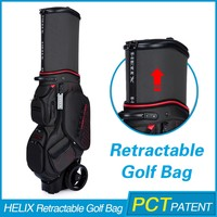 HELIX New Design luxury golf bag with rain cover
