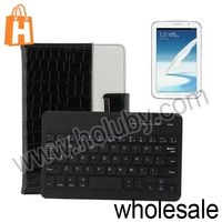 Bluetooth Keyboard Leather Case for Samsung Galaxy Note 8.0 N5100 N5110