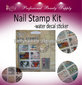 Nail Water Transfer Sticker Nail Water Decal Sticker