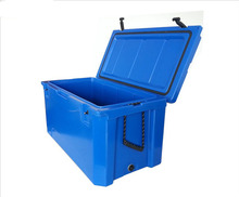 38L Food grade plastic Rotomolded Ice cooler box for car ice chest and camping cooler